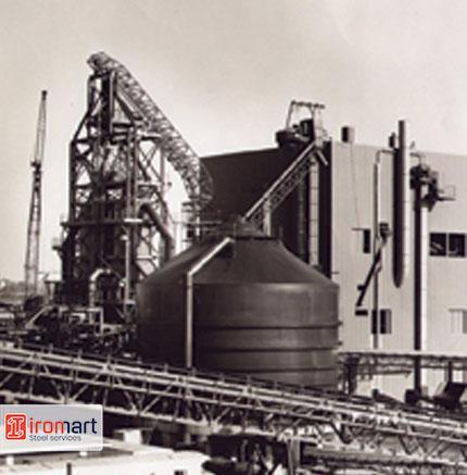 اولین کارخانه احیای مستقیم آهن 1970