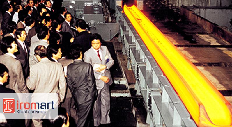 راه اندازی خط تولید هاس د هیوندای استیل کره 1982