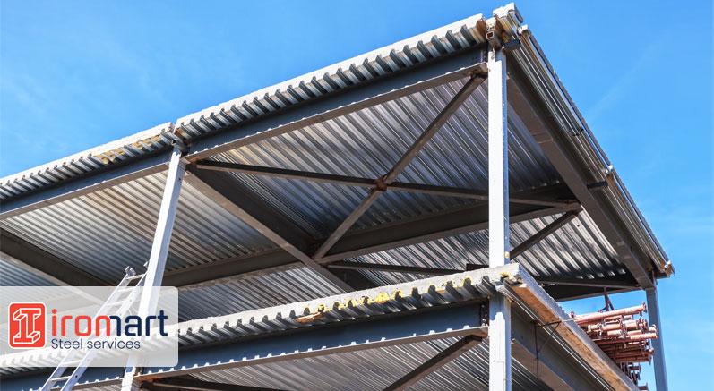عرشه فولادی در ساختمان