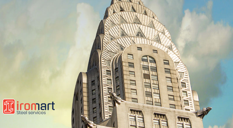 بخش فوقانی ساختمان کرایسلر
