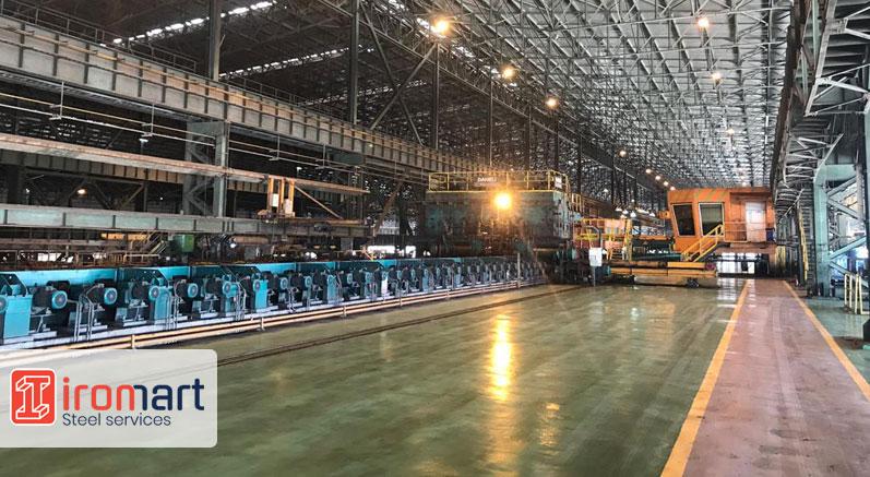 خط تولید فولاد اکسین