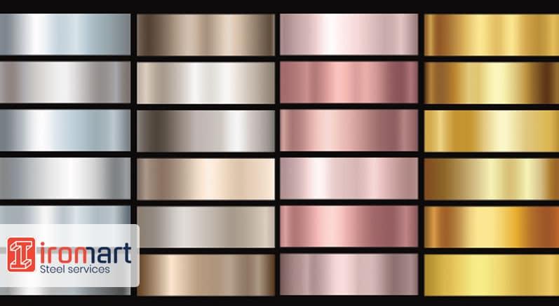 ورق استیل دکوراتیو رنگی