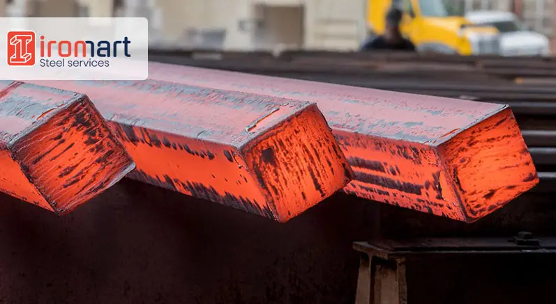 تولید میلگرد زاگرس از شمش فولادی
