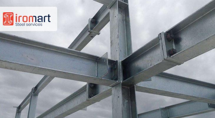 کاربرد تیرآهن در سازههای فلزی