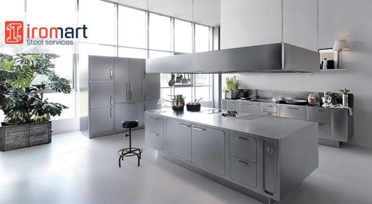کاربرد ورق استیل 304 در ساخت تجهیزات آشپزخانه