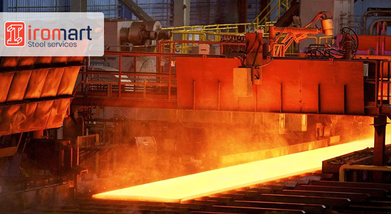 خط تولید کارخانه فولاد مبارکه اصفهان