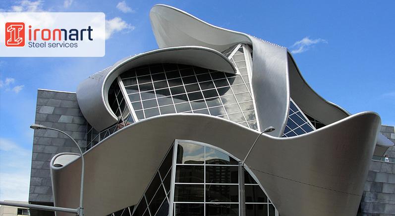 نمای فلزی ساختمان