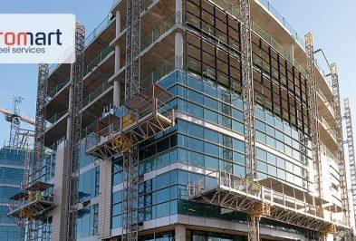 آهن کشی و نبشی کشی نمای ساختمان