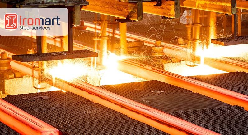 تولید آهن، فولاد و چدن